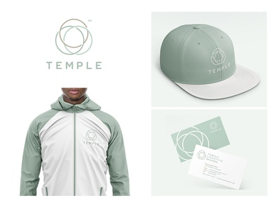 Temple Lifestyle Brands icon business jacket hat lifestyle branding temple logo