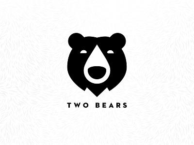 Two Bears bears bear toronto logo nitro oat milk packaging coffee branding