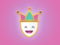 Mardi Gras Joker Icon