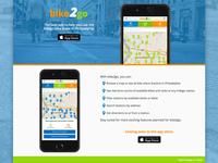 bike2go landing page