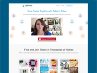 Tailwind Tribes Landing Page