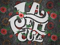 LaPelicula typography