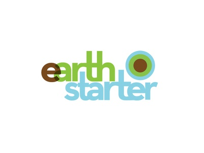 Earth Starter Brand - Logotype/Mark earth logo branding