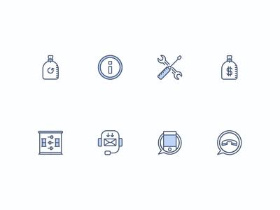 Mynd.com Icons vector website web icons  ui icon mynd home flat app