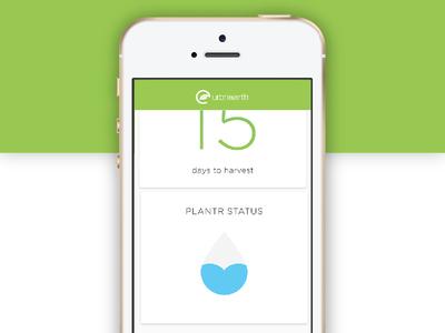 UrbnEarth - app planter subscription food app iphone
