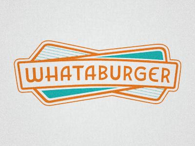 Whataburger Rebrand logo logotype typography fast food whataburger diner 1950