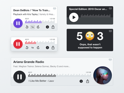 iHeartRadio Embedded Player