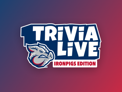 ESC Trivia Live logo typography cartoony mobile game gaming game baseball logotype trivia branding logo