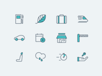 travel & vehicle iconography