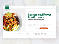 Meal Kit Product Page
