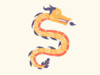 New dragon dribbble
