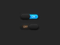 Dark Neon Switches