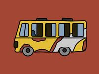 Bus from Dhaka
