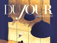 Dujour magazine cover