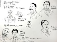 Titanic Illustrations