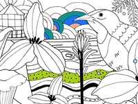 Coloring Book sneak peak