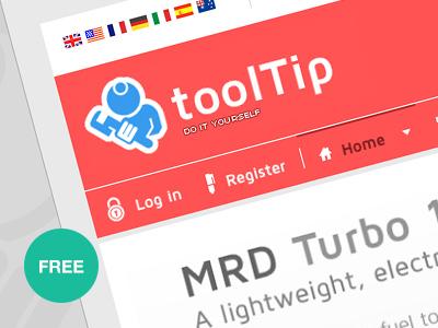 Tooltip - Free eshop joomla! template free freebie joomla template e-shop bonusthemes