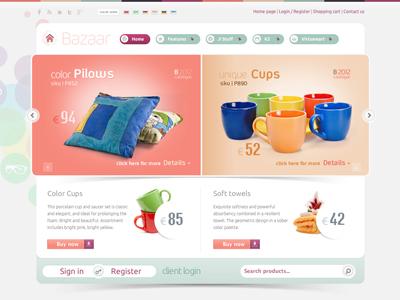 Bazaar - eshop Joomla Template eshop bonusthemes joomla template virtuemart joomla templates