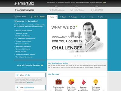 Smartbiz - Joomla template eshop bonusthemes joomla template virtuemart joomla templates finacial business