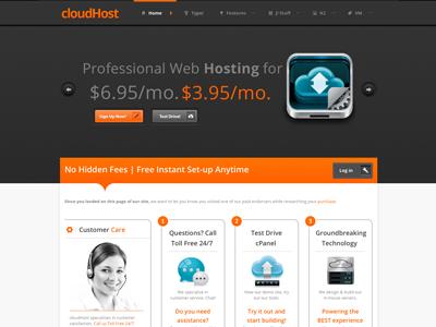 Cloudhost - Joomla Template eshop bonusthemes hosting joomla template virtuemart joomla templates host