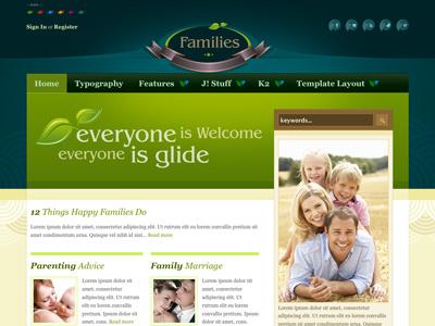 Families - Joomla Template religious family bonusthemes joomla template joomla templates cosmetics