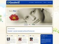 Goodwill - Joomla Template
