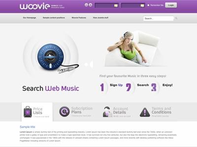 Woovie - Joomla template software presentation bonusthemes joomla template joomla templates