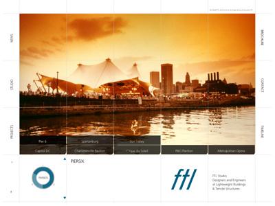 FTL Studio uiux website design art direction