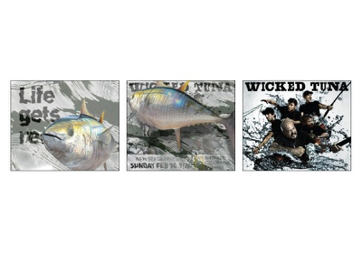 Wicked Tuna take-over banner ad advertising storyboard motion national geographic channels