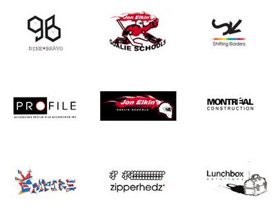 LogoPlate 001 typography illustrator concept brand logo vector art
