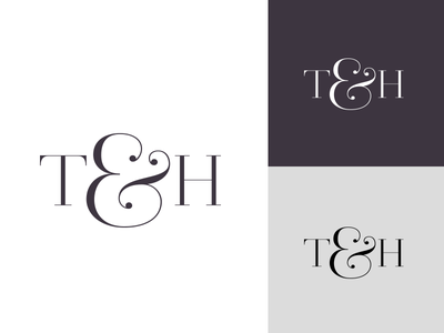T&H submark feminine brand visual identity redesign branding submark logo