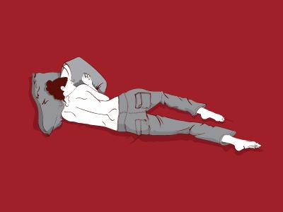 Life Drawing #4 illustration vector