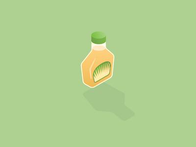Foods Secretly Loaded With Sugar food isometric illustration