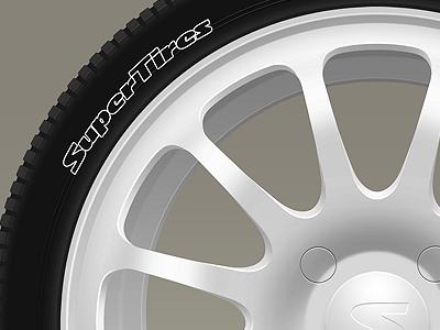 Wheel wheel tire metal cast disk
