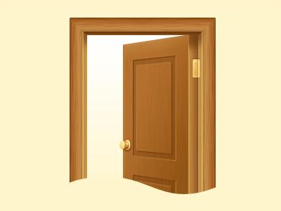 Door updated door illustration
