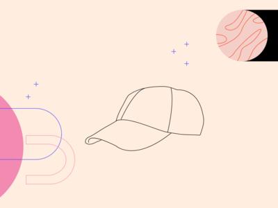 Cap simple graphicdesign editorial illustration illustraion editorial art editorial vector illustration clothes vectorart vector flat illustration flat