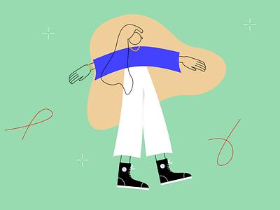 Boombox web illustration vector illustraion editorial illustration editorial art editorial flat illustration flat