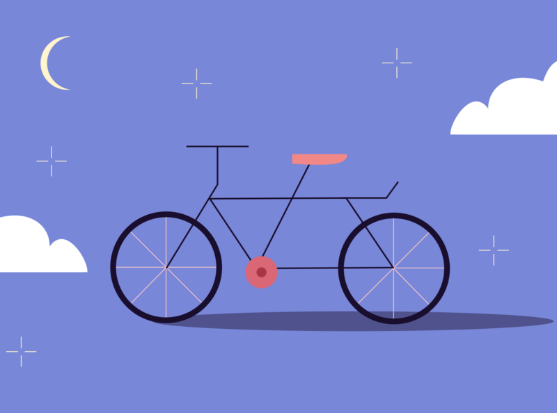 Bike vector geometry simple graphicdesign illustraion editorial illustration editorial art editorial flat illustration flat