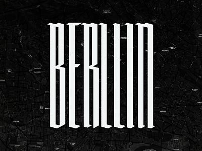 Berlin Medieval berlin typography medieval
