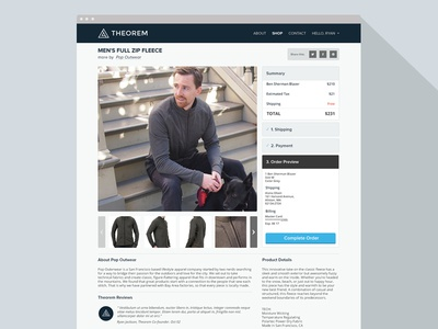 Theorem Product Page