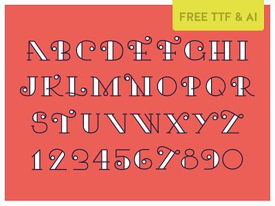 Kari Typeface kari curly free font psddd typeface freebie