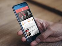 Man United App Redesign