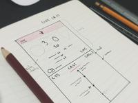 Live Score Sketch