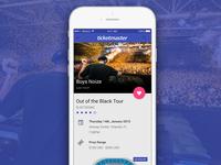 Ticketmaster App Redesign