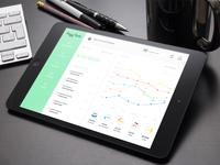 Piggybank iPad UI