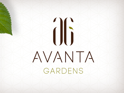 Avanta Gardens Branding avanta shopping logo mall branding shopping mall
