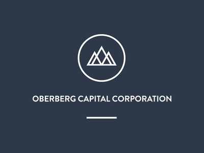 Oberberg Logo banking capital logo diamond money oberberg