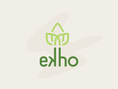 Ekho bamboo eco ecofriendly ecologic recycle nature green branding
