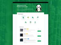 Panda Community Website