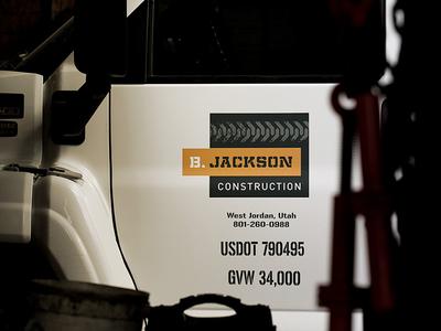 B. Jackson Construction Vehicle Graphics
